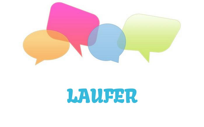 Laufer – značenje,  pojam