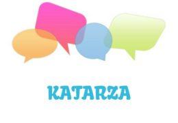 Katarza – značenje,  pojam