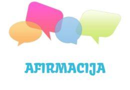 Afirmacija – značenje,  pojam