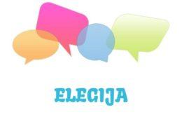 Elegija – značenje,  pojam