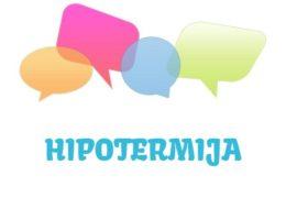 Hipotermija - značenje, uzrok, simptomi