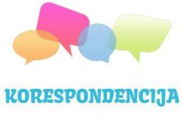 Korespondencija - značenje,  pojam
