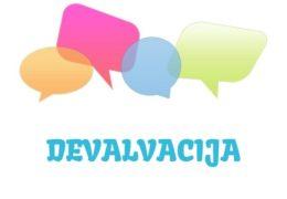 Devalvacija - značenje,  pojam